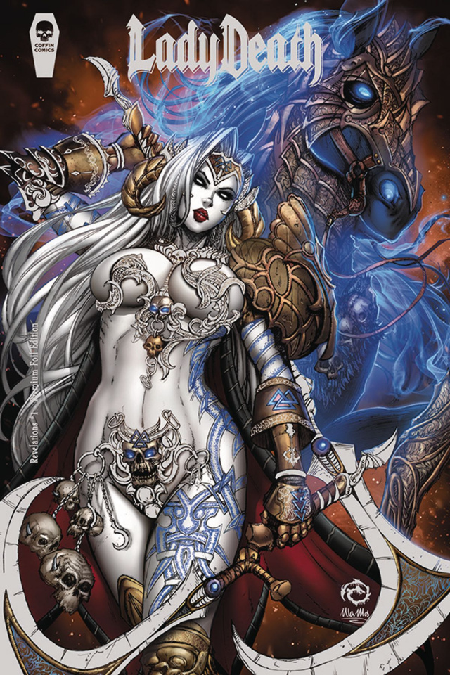 Lady Death: Revelations #1 (Foil Premium Cover)