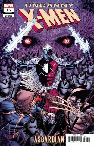 Uncanny X-Men #15 (Zircher Asgardian Cover)