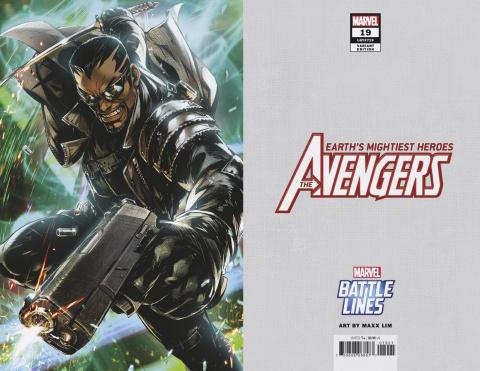 Avengers #19 (Maxx Lim Marvel Battle Lines Cover)