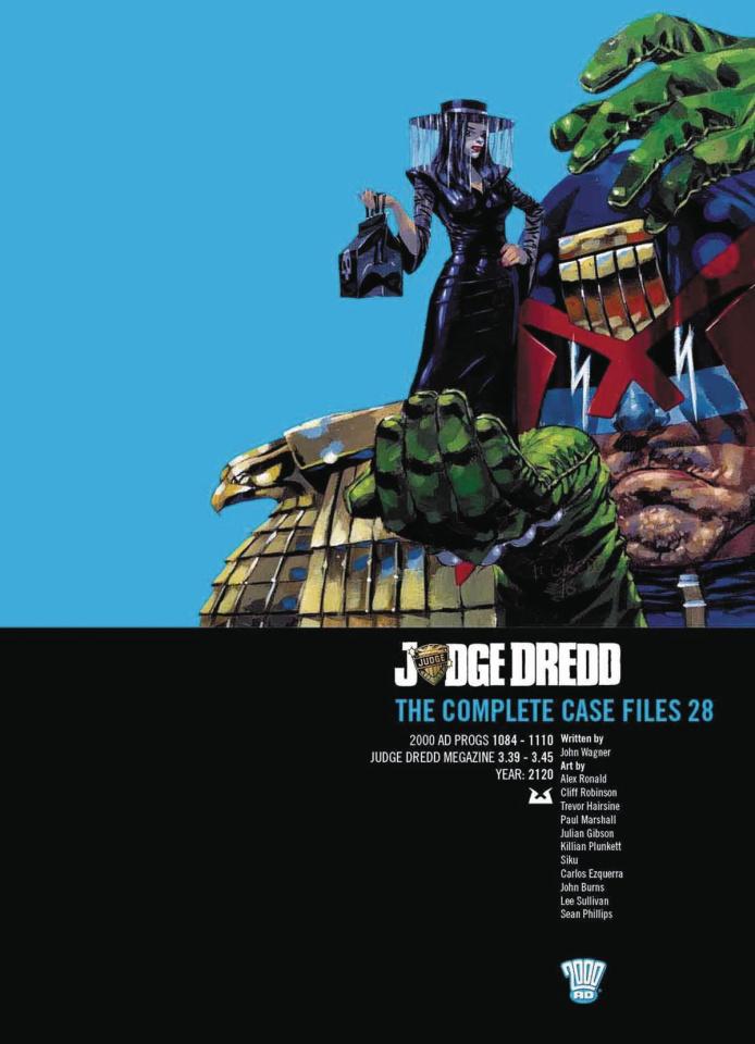 Judge Dredd: The Complete Case Files Vol. 28
