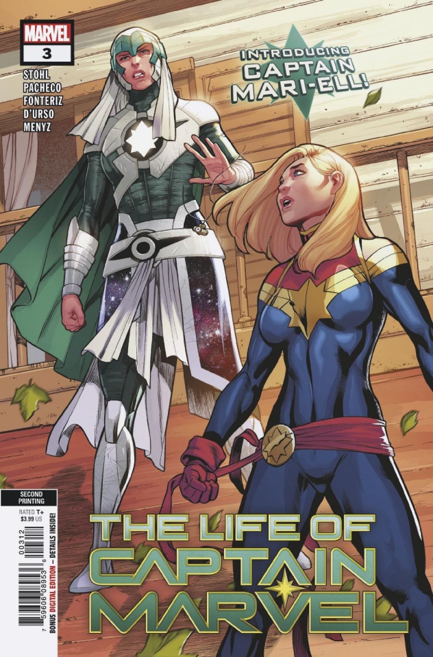 The Life of Captain Marvel #3 (Pacheco 2nd Printing)