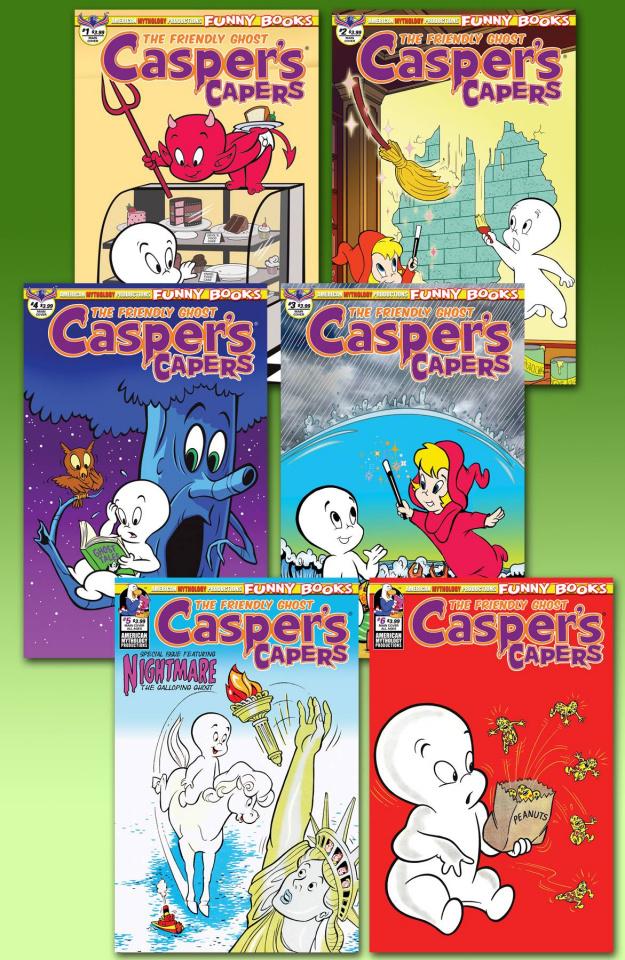 Casper's Capers Readers Set