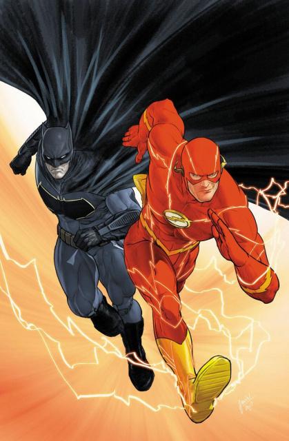 Batman #21 (International Edition: The Button