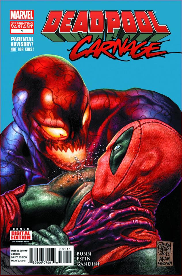 Deadpool vs. Carnage #1 (2nd Printing)