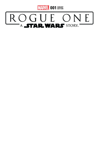 Star Wars: Rogue One #1 (Blank Cover)
