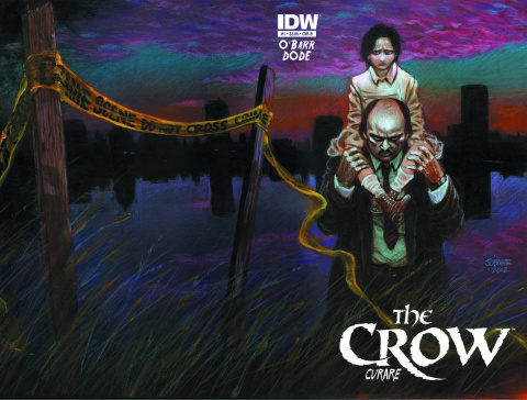 The Crow: Curare #1 (Subscription Cover)
