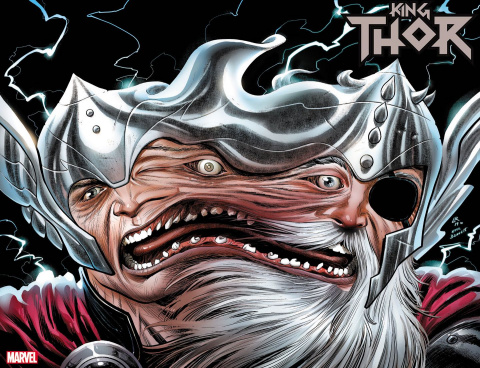 King Thor #1 (Ross Immortal Wraparound Cover)