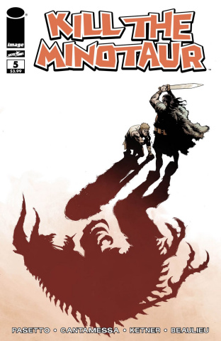 Kill the Minotaur #5 (Walking Dead #103 Tribute Cover)