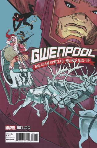 Gwenpool Holiday Special: Merry Mix Up (Henderson Cover)