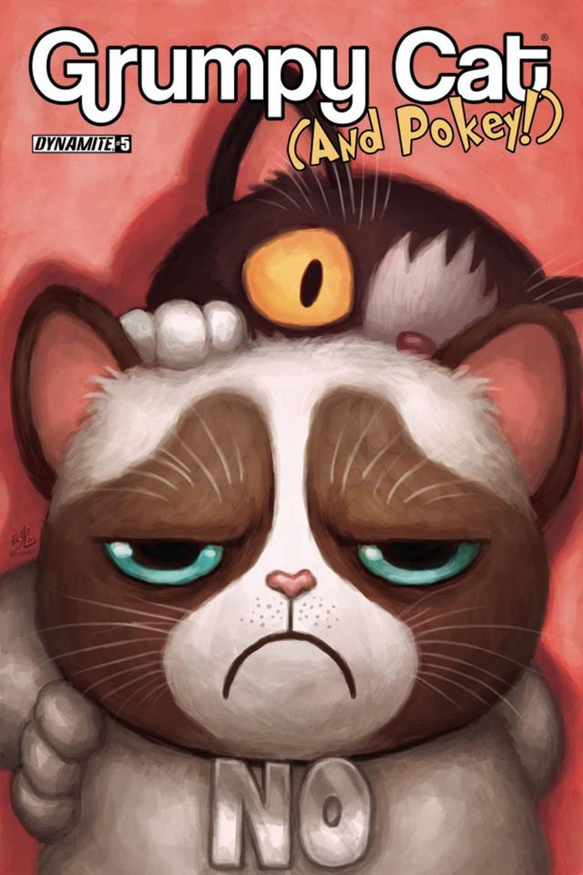 Grumpy Cat (and Pokey!) #6 (Ry Spirit Cover)