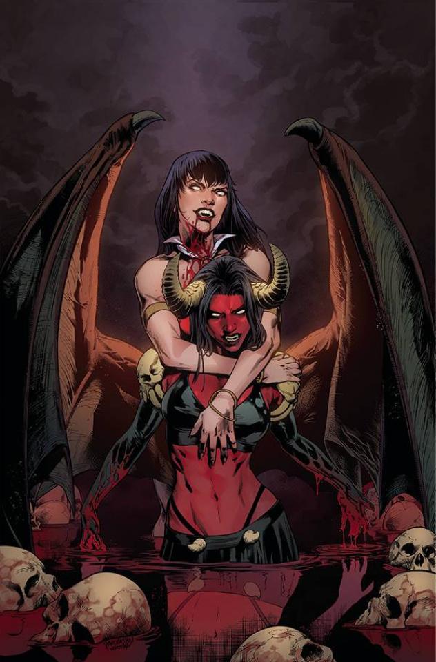 Vampirella vs. Purgatori #2 (10 Copy Pagulayan Virgin Cover)