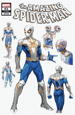 The Amazing Spider-Man #63 (Weaver Design Cover)