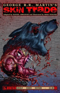 Skin Trade #2 (Grisly Cover)