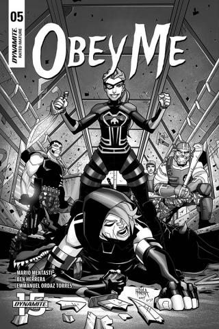 Obey Me #5 (10 Copy Herrera B&W Cover)