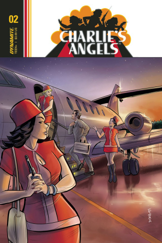 Charlie's Angels #2 (Eisma Cover)