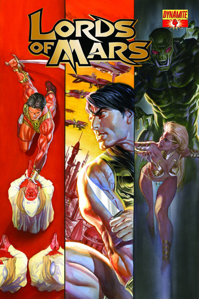 Lords of Mars #4 (Ross Cover)