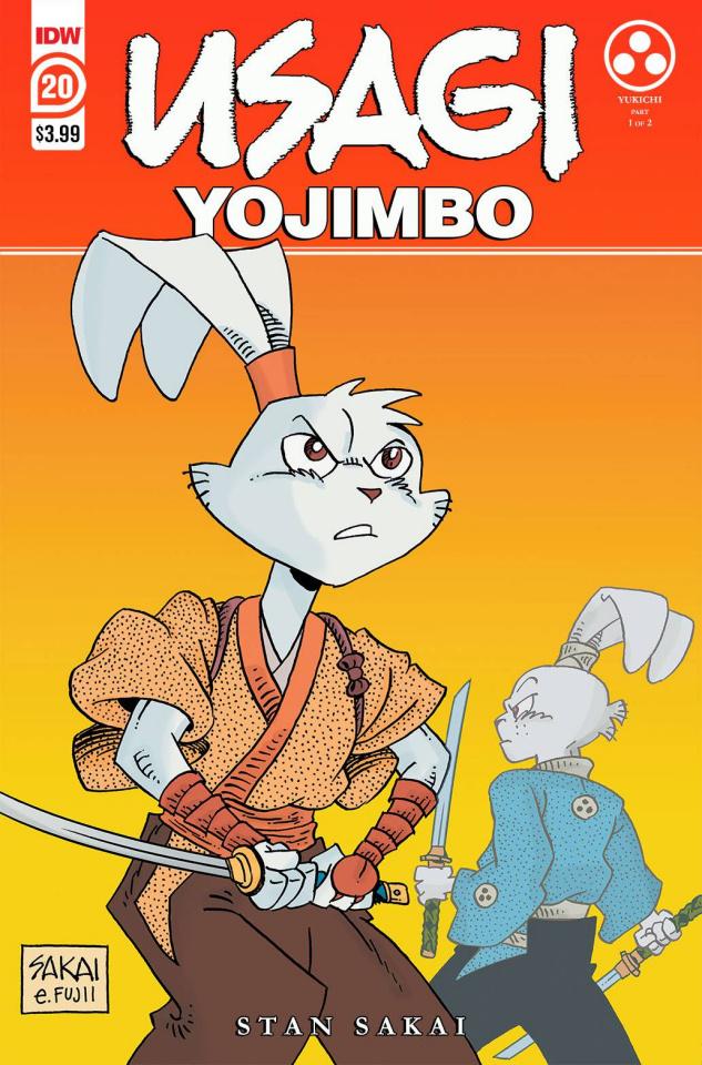 Usagi Yojimbo #20 (2nd Printing)