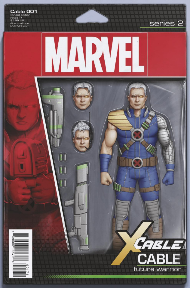 Cable #1 (Christopher Action Figure Cover)