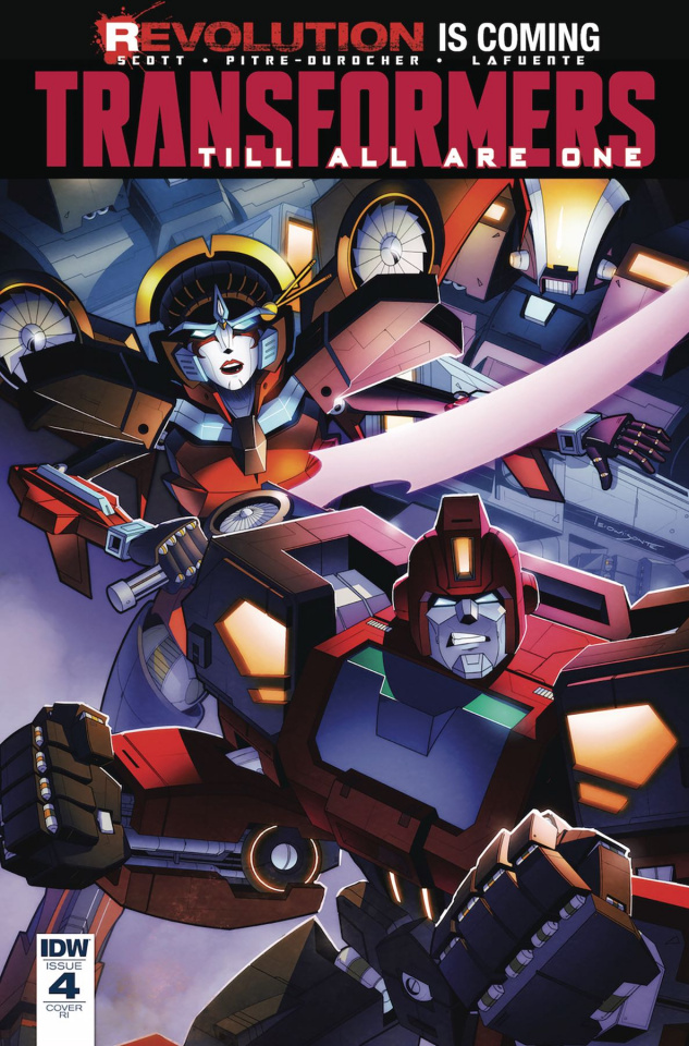 The Transformers: Till All Are One #4 (10 Copy Cover)