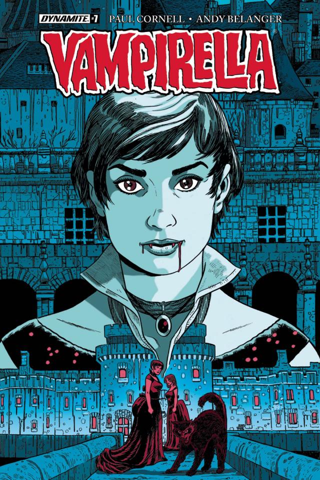 Vampirella #7 (Belanger Cover)