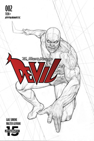 The Death-Defying Devil #2 (10 Copy Federici B&W Cover)