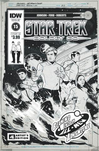 Star Trek: Boldly Go #15 (Artist Ed Hernandez Cover)