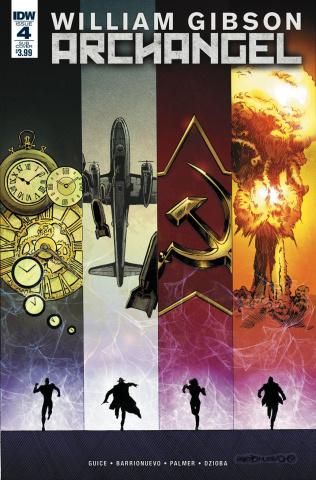 Archangel #4 (Paperback Cover)