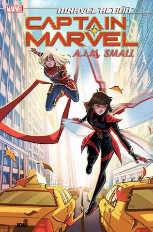 Marvel Action: Captain Marvel Vol. 2: Aim Small