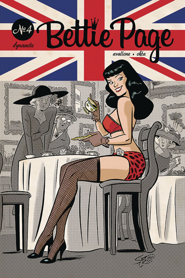 Bettie Page #4 (Chantler Cover)