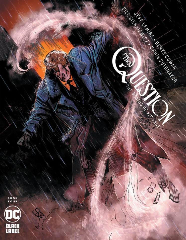 The Question: The Deaths of Vic Sage #4 (Denys Cowan Cover)