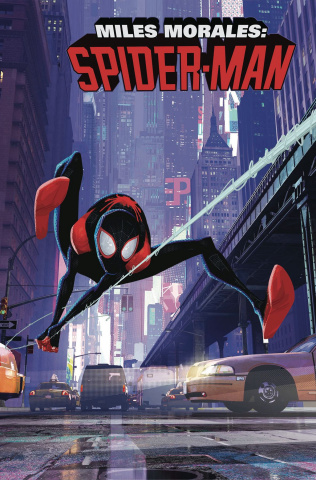Miles Morales: Spider-Man #1 (Animation Cover)