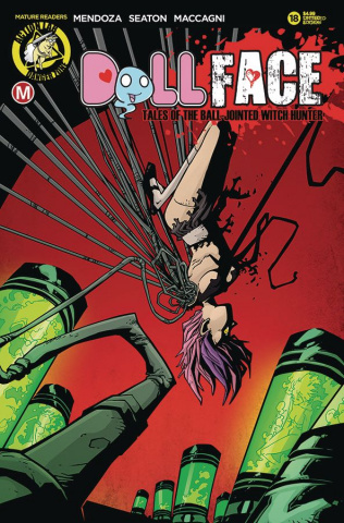 Dollface #18 (Maccagni Pin Up Tattered & Torn Cover)
