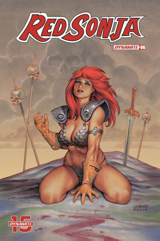 Red Sonja #6 (Linsner Cover)