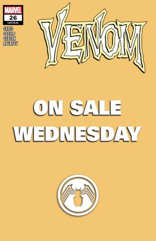 Venom #26 (Marvel Wednesday Cover)