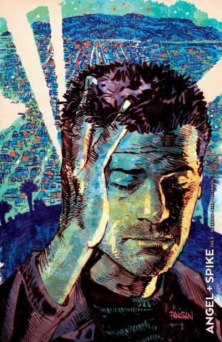 Angel & Spike #9 (Vampire Cover)