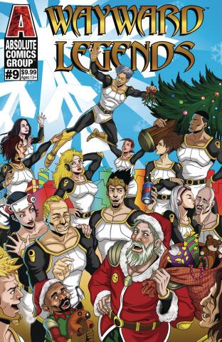 Wayward Legends #9 (Yang Metallic Ink Cover)