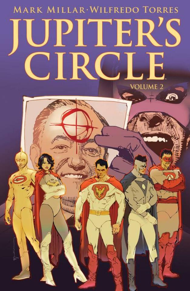 Jupiter's Circle #3 (Sienkiewicz Cover)