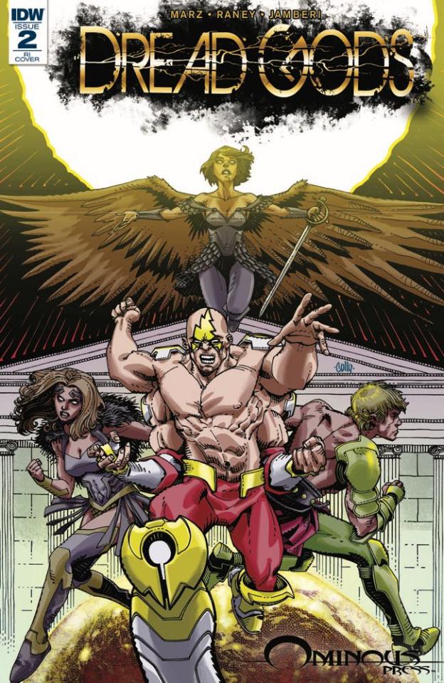 Dread Gods #2 (10 Copy Cover)