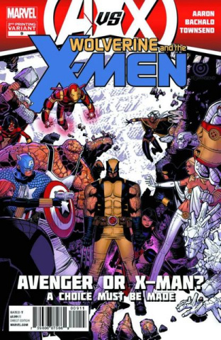 Wolverine and the X-Men #9 (2nd Printing)