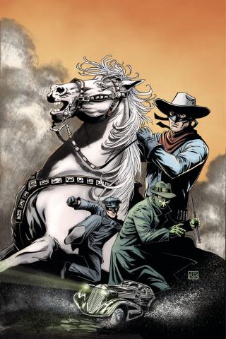 The Lone Ranger / The Green Hornet #2 (Rare Duursema Virgin Cover)
