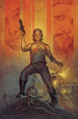 Big Trouble in Little China: Old Man Jack #4 (Main & Mix Cover)