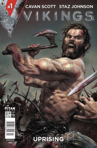 Vikings: Uprising #1 (Wahl Cover)