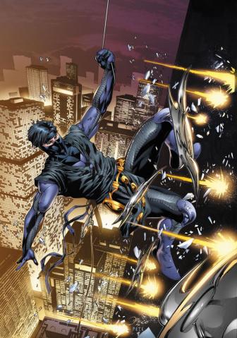 Ninjak #22 (Bernard Cover)