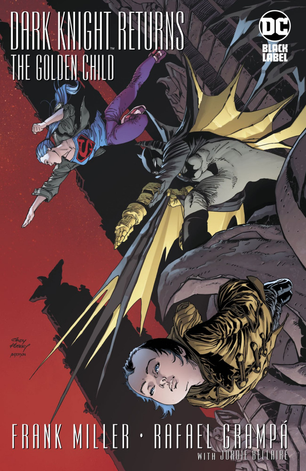 The Dark Knight Returns: The Golden Child #1 (1:500 Cover)