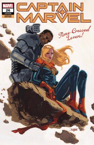 Captain Marvel #26 (Asrar Cover)