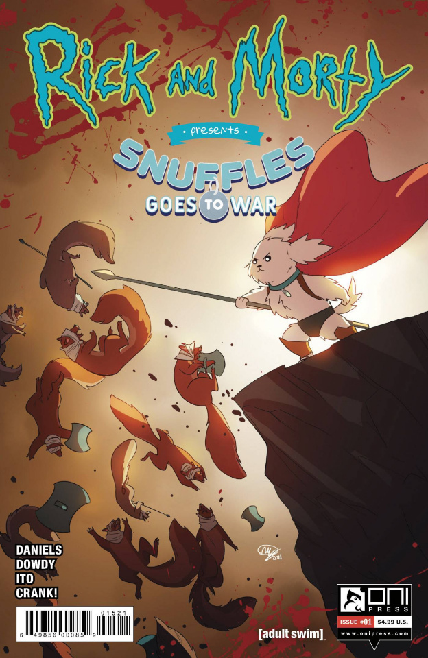 Rick and Morty Presents: Snuffles Goes To War #1 (Huang Cover)