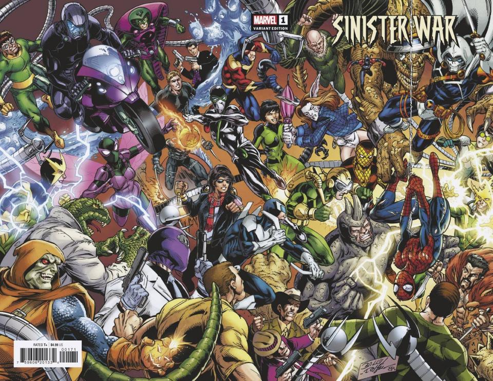 Sinister War #1 (Bagley Wraparound Cover)