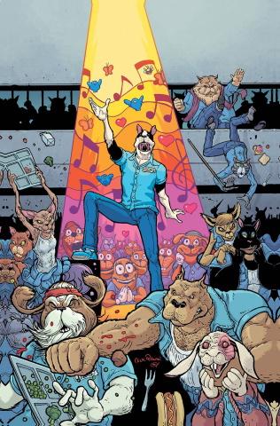 Kennel Block Blues #1 (15 Copy Pitarra Cover)