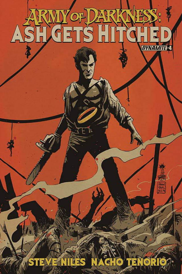 Army of Darkness: Ash Gets Hitched #4 (Francavilla Cover)