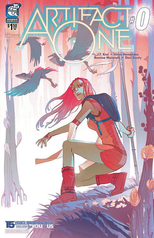 Artifact One #0 (Moranelli Cover)